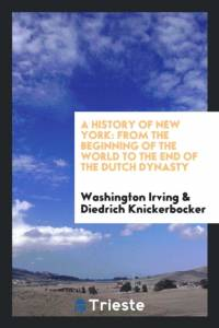 History of New York af Washington Irving