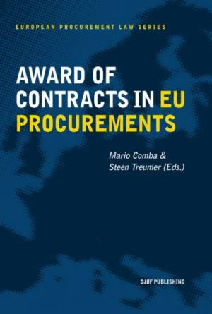 Award of Contracts in EU Procurement af Mario Comba